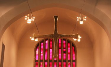 cross in church